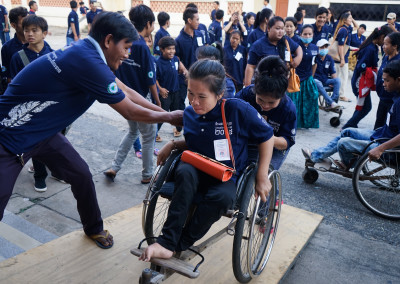 Banteay Prieb outing for International Disabled Day
